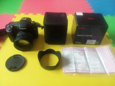 适马 50mm f/1.4 EX DG HSM(佳能口)