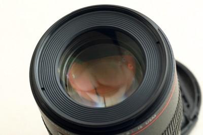 佳能EF100F2.8IS L 微距镜头,请看图片!