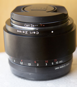 卡尔·蔡司 Planar T* 50mm f/1.4 ZE 行货