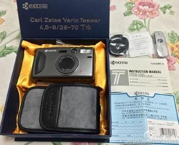 99新京瓷T(yashica Tzoom)胶片相机