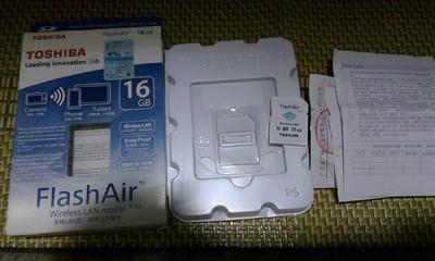 出京东行货东芝 FlashAir WiFi SDHC存储卡 Class10(W-02)(16GB)