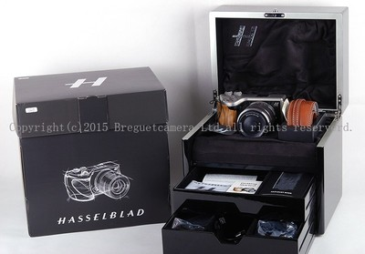 【全新收藏品】哈苏Lunar微单18-55/3.5-5.6镜头24.3万像橄榄木手柄全套包装