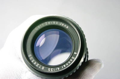 ZEISS JENA SONNAR 135/4 斑马版 1Q