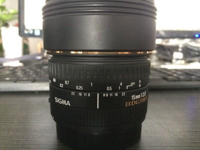 适马 15mm f/2.8 EX DG DIAGONAL Fisheye(佳能卡口)