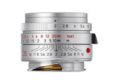 【新上市】Leica/徕卡 Summicron-M 35/2 ASPH 6bit 银色新款镜头 HK