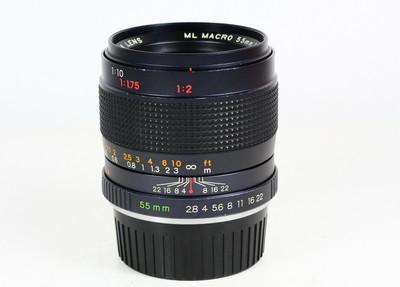 雅西卡 ML MACRO 55/2.8 YASHICA 日产 YC口手动镜头 微距