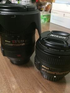 出自用尼康18-200镜头一个,50 1.8标头一个