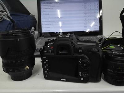 出售2015年12月京东购入的D7100套机(18-104)加50镜头