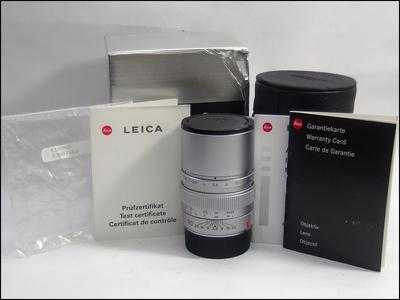 徕卡 Leica M 90/2.8 ELMARIT-M E46 全铜 银色 带银盒包装
