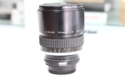 Nikon/尼康 135mm 1:2 纯手动定焦镜头 尼康经典手动镜头 99新 成色性能完美