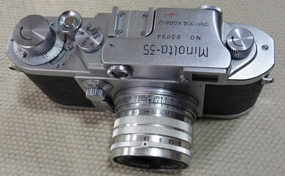 美能达35II + SUPER ROKKOR 50/2.8(L39口)套机