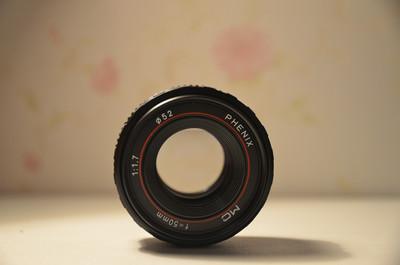 凤凰50mmF1.7手动人像镜头