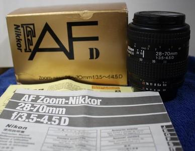 尼康 28-70mmf/3.5-4.5D