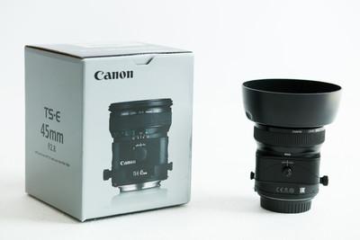 99新 佳能TS-E45mm f/2.8移轴镜头 UC15年产 包装齐全