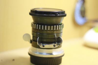 [转卖]95新 LOMO 电影镜 OKC11-35-1 35mm F2 已改佳能口