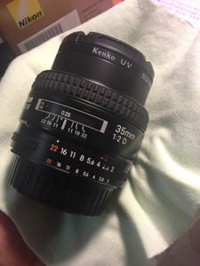 Nikon尼康 35mm F2D广角定焦