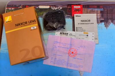 尼康AF-S 尼克尔 20mm f/1.8G ED