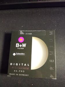 B+W 82mm UV镜