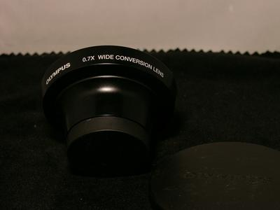 奥林巴斯WCON-07广角附加镜 0.7 无暗角,无虚化