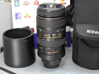 出售尼康80-400/F4.5-5.6D镜头
