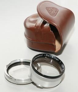 禄来原厂B1口1号近摄镜,带皮套 rolleiflex 3.5T MX等适用