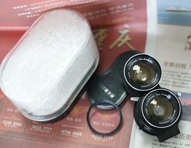 玛米亚 mamiya c220 C330 用 55/4.5 双反 相机 广角 镜头