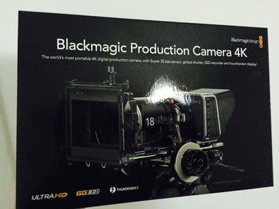 Blackmagic Prodution Camera 4K