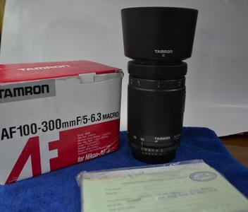 腾龙100-300/F5.6-6.3 MACRO