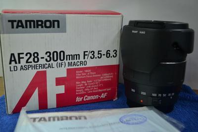 腾龙 AF28-300mm f/3.5-6.3 XR Di LD Asp[IF]MACRO佳能卡口