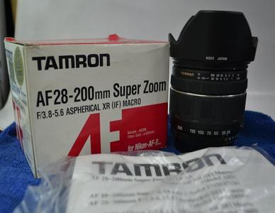 腾龙 AF28-200mm f/3.8-5.6 XR Di Asp[IF]Macro尼康口