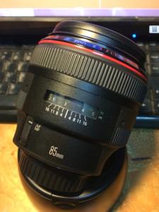 佳能 EF 85mm f/1.2L  II USM(大眼睛)