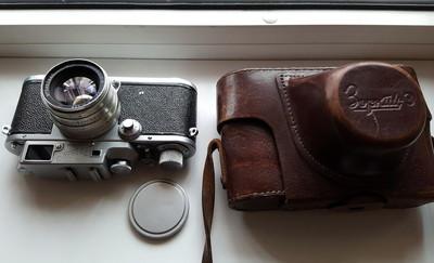 收藏级别相机 卓尔基 ZORKI-3 相机编号5431027