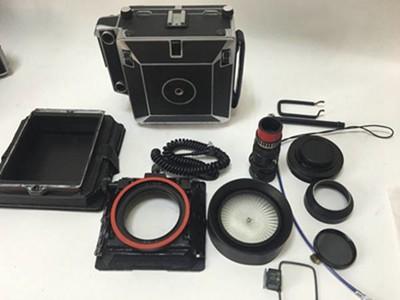 林哈夫 特异 45 大画幅相机 折叠双轨 大量配件