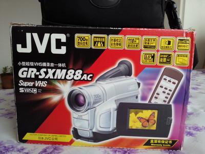 JVC GR-SXM88ac小型超级VHS摄录放一体机