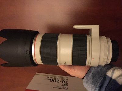 (已出)佳能EF 70200mm f/2.8L IS II USM 爱死小白兔