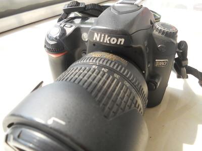 尼康最后一代CCD感光器相机出手(D80)
