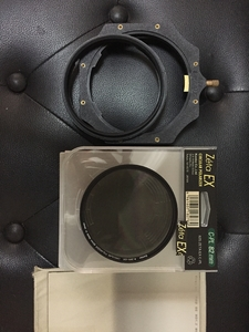 lee proglass 0.9 玻璃滤镜4:4 ND, 肯高cpl82mm,支架,渐变镜