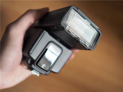 日清I40闪光灯,M43口,日本原产
