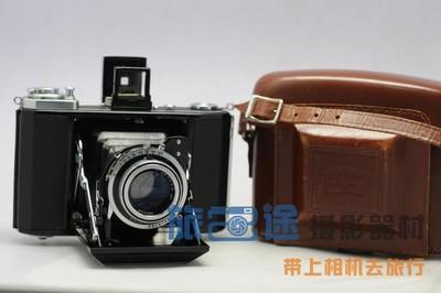 【昆明旅途】蔡司 伊康 Zeiss ikon ikonta 521/16 折叠皮腔 经典 收藏相机