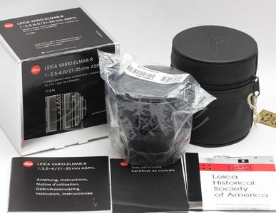 98新 徕卡 Leica Vario Elmar R 21-35 ASPH 后期银盒 C00991