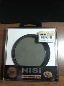 NiSi 多层镀膜超薄PRO MC CPL(67mm)