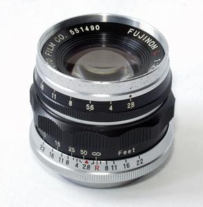 【三茂】Fuji/富士 L50/2.8 镜头 L39螺口