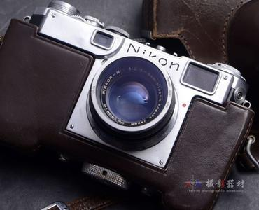 旁轴 NIKON 尼康 S2+50/2镜头 尼康经典135胶片相机 带皮套
