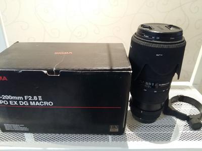 宾得口适马 APO 70-200mm f/2.8 II EX DG MACRO HSM四代微距小黑