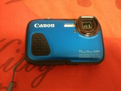 佳能 D30 潜水相机,仅用过一次!