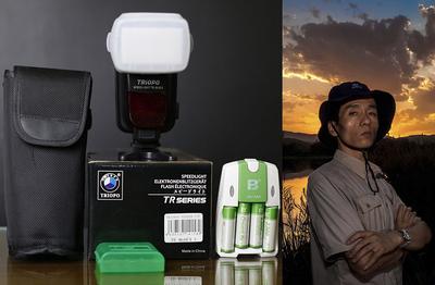 捷宝TR-860EX佳能相机闪光灯 手动/自动变焦TTL 高速 无线电主从