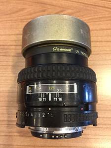 低价转让 尼康50mm 1:1.4D  镜头