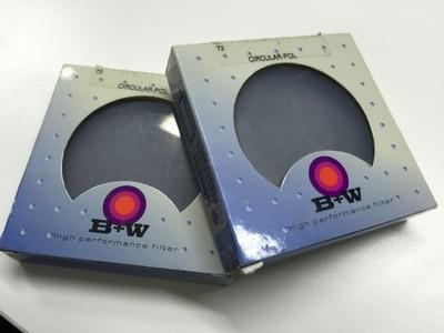 B+W 72mm 环形偏振镜
