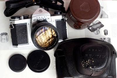 宾得军事相机 Pentax asahi SB2 Takumar 85MM 1.8
