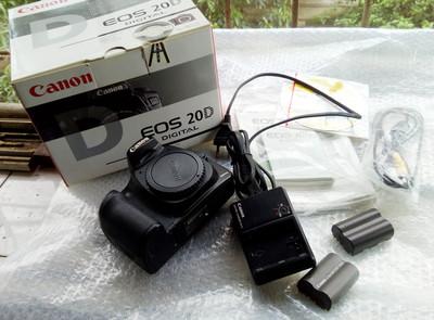 出售自用佳能20D单反相机
